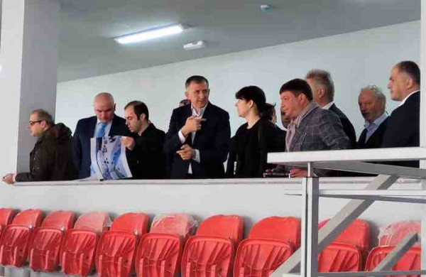 Batumi 2018:  The Officials Visited A Sports Complex