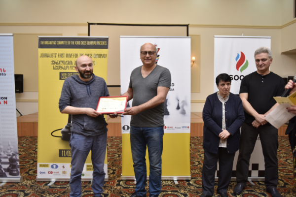 Batumi 2018: Gocha Tandarashvili won the media tournament