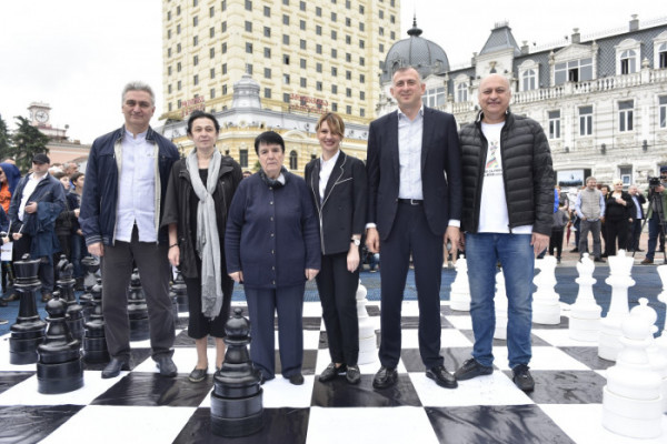 "Batumi 2018: ""First move in Batumi"" – an event at the Europe Square"