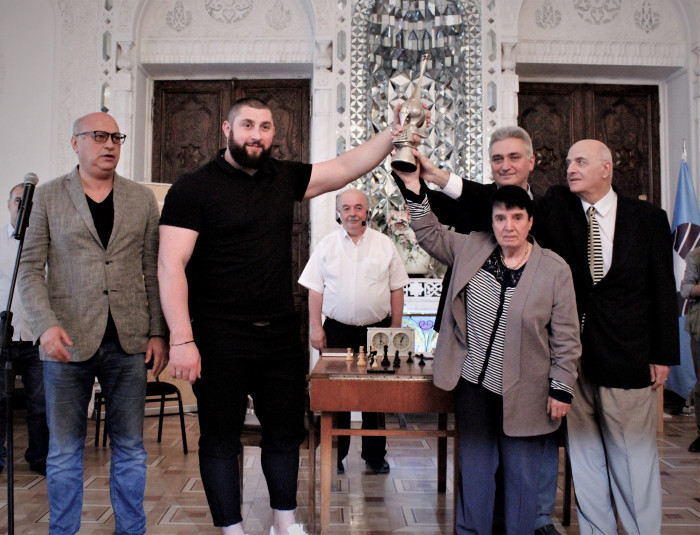 """The First Cup of the Democratic Republic"", the Nona Cup and Lasha Talakhadze"