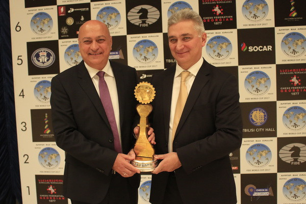 Batumi 2018: Interview with Zurab Azmaiparashvili and Giorgi Giorgadze
