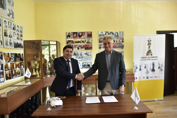 "Batumi 2018: ""Water Sno"" will be the sponsor of the Olympiad!"