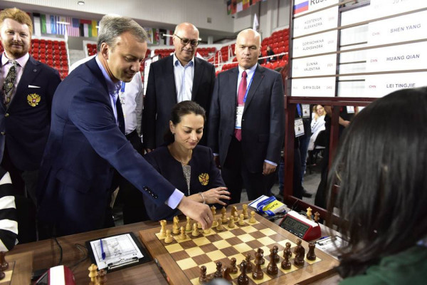 the first move by FIDE's newly chosen President
